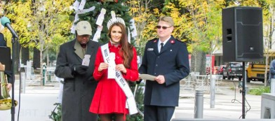 Salvation Army Baton Rouge Red Kettle Angel Tree Kick-Off