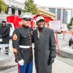 Staff Sgt. Marco Garcia and Mayor Kip Holden.