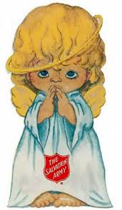 Image result for salvation army christmas angels