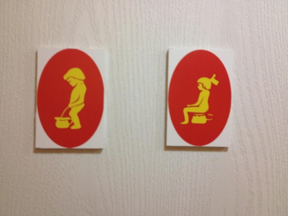 restroom signs for any language - The Salvation Army of ...