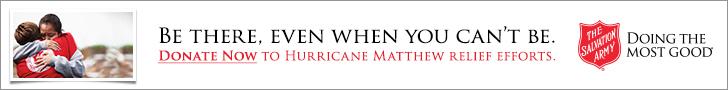 hurricane matthew relief banner