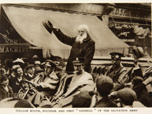 salvation army about us history william booth