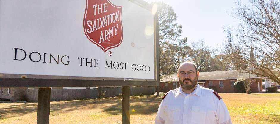 salvation army captain christopher bryant