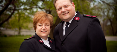 Steve Morris Wendy Morris salvation army alm dc