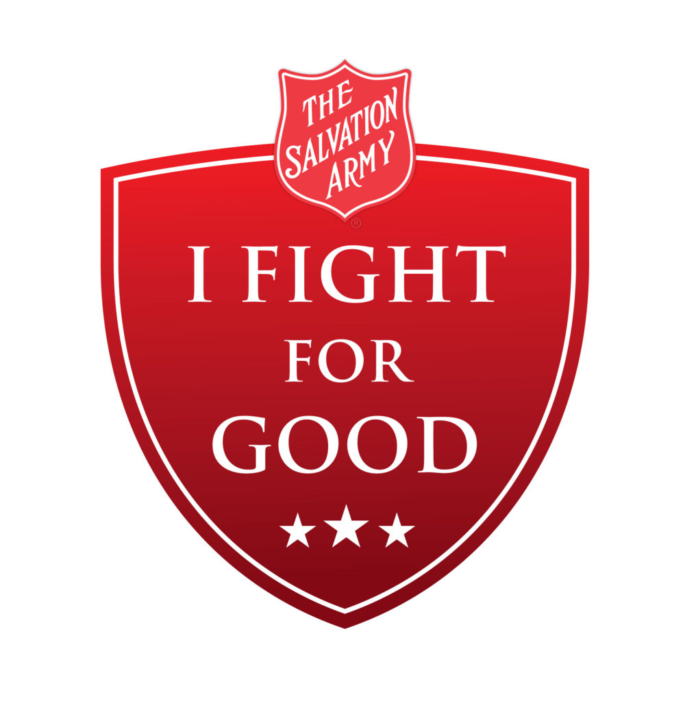 fight for good badge