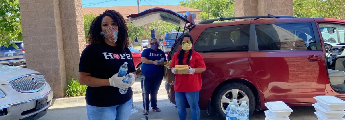 Kroc Center meal delivery to seniors
